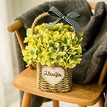 Weinhsl Home Dekoration Künstliche Blume Mit