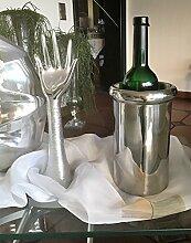 Weinkühler Flaschenkühler Sekt-Kühler Edelstahl