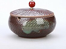 Weinlese Aschenbecher mit Deckel Chinesische