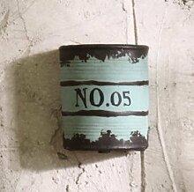Weinlese dekoration retro kreativ balkon pflanze - montiert blume töpfe netzwerk Nr. 05