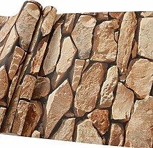 Weinlese-Steinstein-Marmor-Fliesen-Tapete 31.8 *