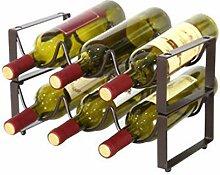 Weinregal 6 Flaschen Halter,Weinflaschenhalter