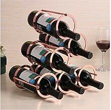Weinregal, abnehmbarer Weinständer,