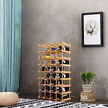 Weinregal aus Holz Flaschenregal Weinständer 40