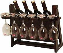 Weinregal aus Holz Freistehendes Weinregal