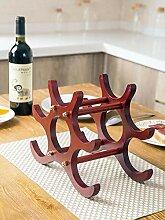 Weinregal aus Holz, für Zuhause, Wohnzimmer,