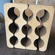 Weinregal aus Wellpappe & Kork von Frank Gehry,