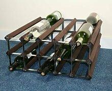 Weinregal Bateman für 30 Flaschen