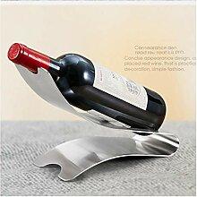 Weinregal Creative Wine Stand Edelstahl verdicktes