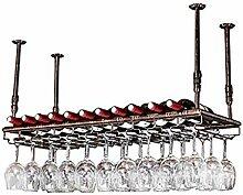 Weinregal Decke Rotwein Getränkehalter Bar