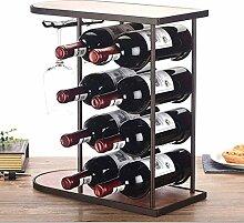 Weinregal Dekoration Display Rack Weinflasche Rack