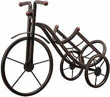 Weinregal Dekoration, Vintage Eisen Dreirad