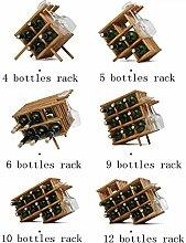 Weinregal Dekoration Weinflaschenhalter Hause