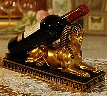 Weinregal Dekorationen,Europäische ägyptische