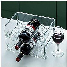 Weinregal, einfache Weinflasche Lagergestell,