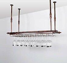 Weinregal Einfaches Art-Eisen-hängendes