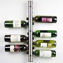Weinregal Europäischen Stil Edelstahl Wein Stahl