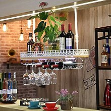 Weinregal europäisches Retro-Holz-Weinregal Bar