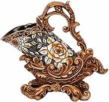 Weinregal, europäisches Sonnenblumen-Design,
