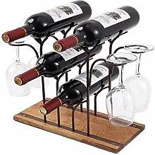 Weinregal Flaschen Halter,Weinflaschenhalter