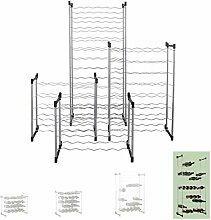 Weinregal/Flaschenregal System BARDOLINO, Metall