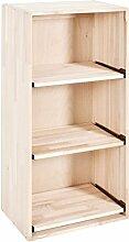 Weinregal/Flaschenregal System BOX mit Auszügen