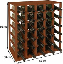 Weinregal/Flaschenregal System QUADRI für 30 Fl,