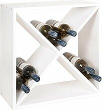Weinregal/Flaschenregal System X-Cube, Holz