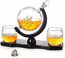 Weinregal Flaschenregal Whiskey Decanter Set -