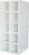 Weinregal für 10 Fl. ModernMoments Farbe: Weiß