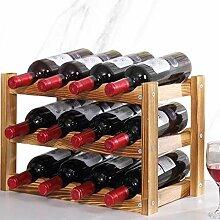 Weinregal Für 12 Flaschen Ablage Flaschenregal
