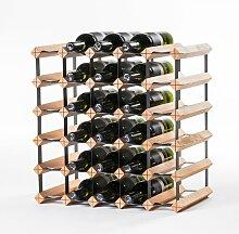 Weinregal für 30 Flaschen ClearAmbient