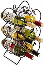 Weinregal für 6 Flaschen in Standardgröße