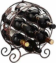Weinregal Für 7 Flaschen Ablage Flaschenregal