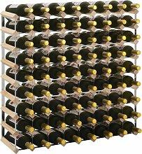 Weinregal für 72 Flaschen Massivholz Kiefer
