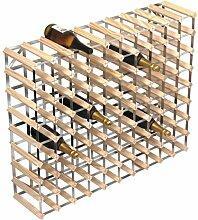 Weinregal für 90 Weinflaschen, 810 x100 x 23 cm