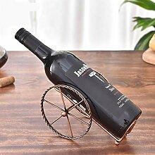 Weinregal für die Arbeitsplatte, Weinhalter für