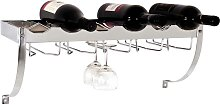 Weinregal für Flaschen und Gläser