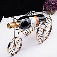 Weinregal für freistehendes Dreirad, kreatives