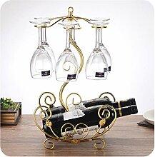 Weinregal Glashalter Europäische Flasche Blume