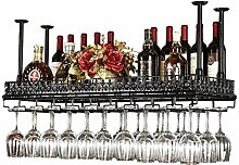 Weinregal hängend Weinflaschenhalter Metall