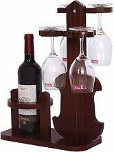Weinregal, Holz für 1 Flaschen, freistehend,