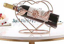 Weinregal im europäischen Stil, großer Weinschrank für den Haushalt, Weinglashalter, auf dem Kopf stehendes Weinregal ( größe : 25*10*18cm )