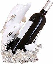 Weinregal Kreativer Weinhalter aus Kunstharz mit