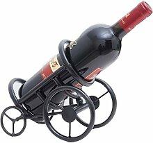 Weinregal, kreativer Weinhalter, Schmiedeeisen,