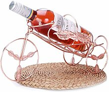 Weinregal, kreatives Fahrrad-Weinregal,