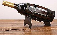 Weinregal, kreatives Zuhause, Weinflaschenregal,