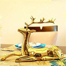 Weinregal Kupfer Deer Klein Dekoration Wohnzimmer