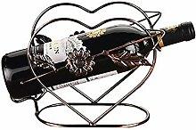 Weinregal, Metall, Flaschenhalter, Dekoration für