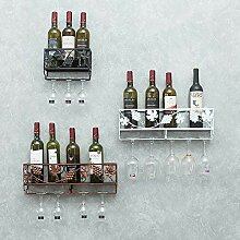 Weinregal Metall Kreative Weinregal Glashalter